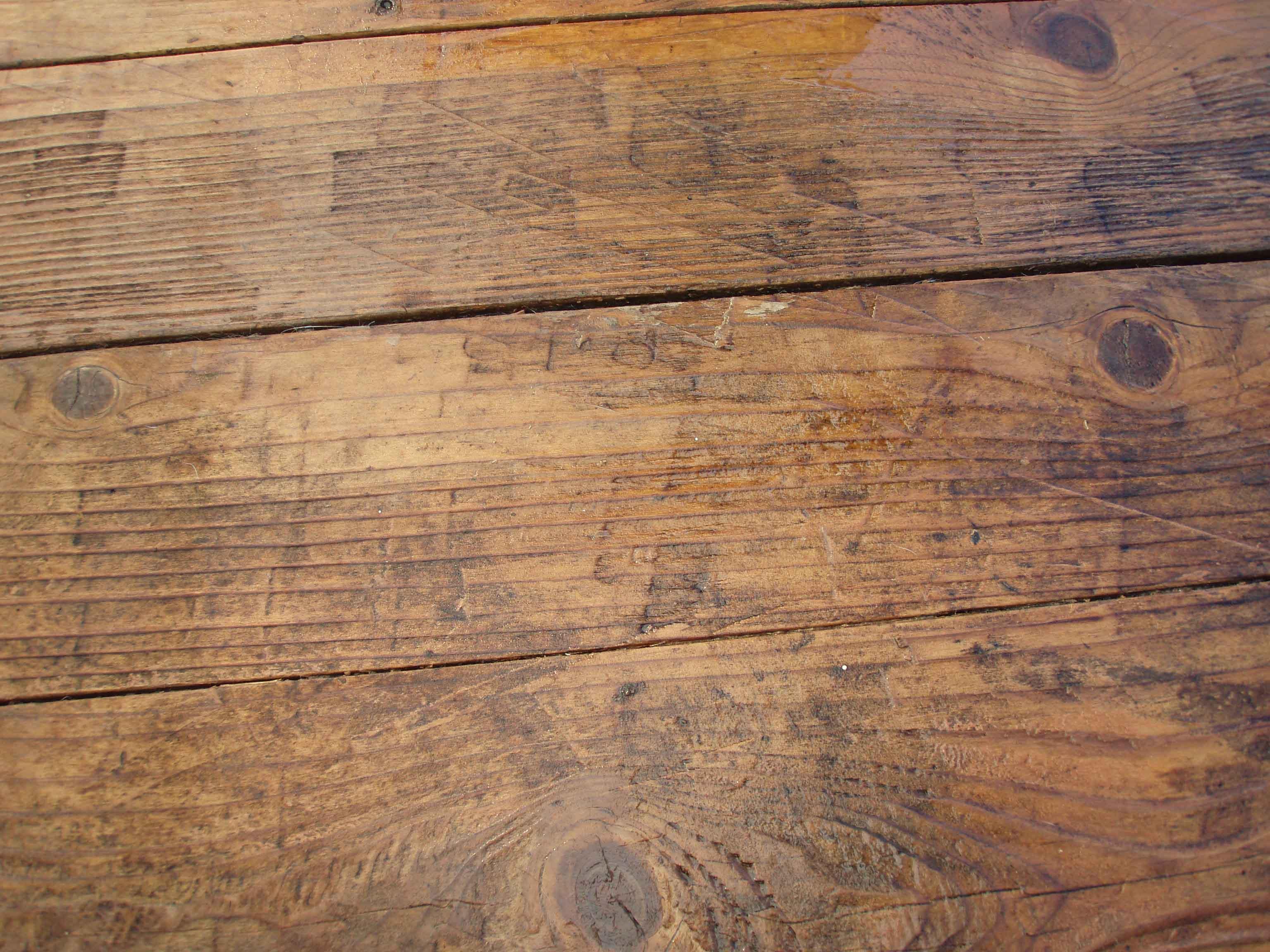 Residential Pressure Washing Deck Restoration